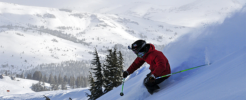 one-skier