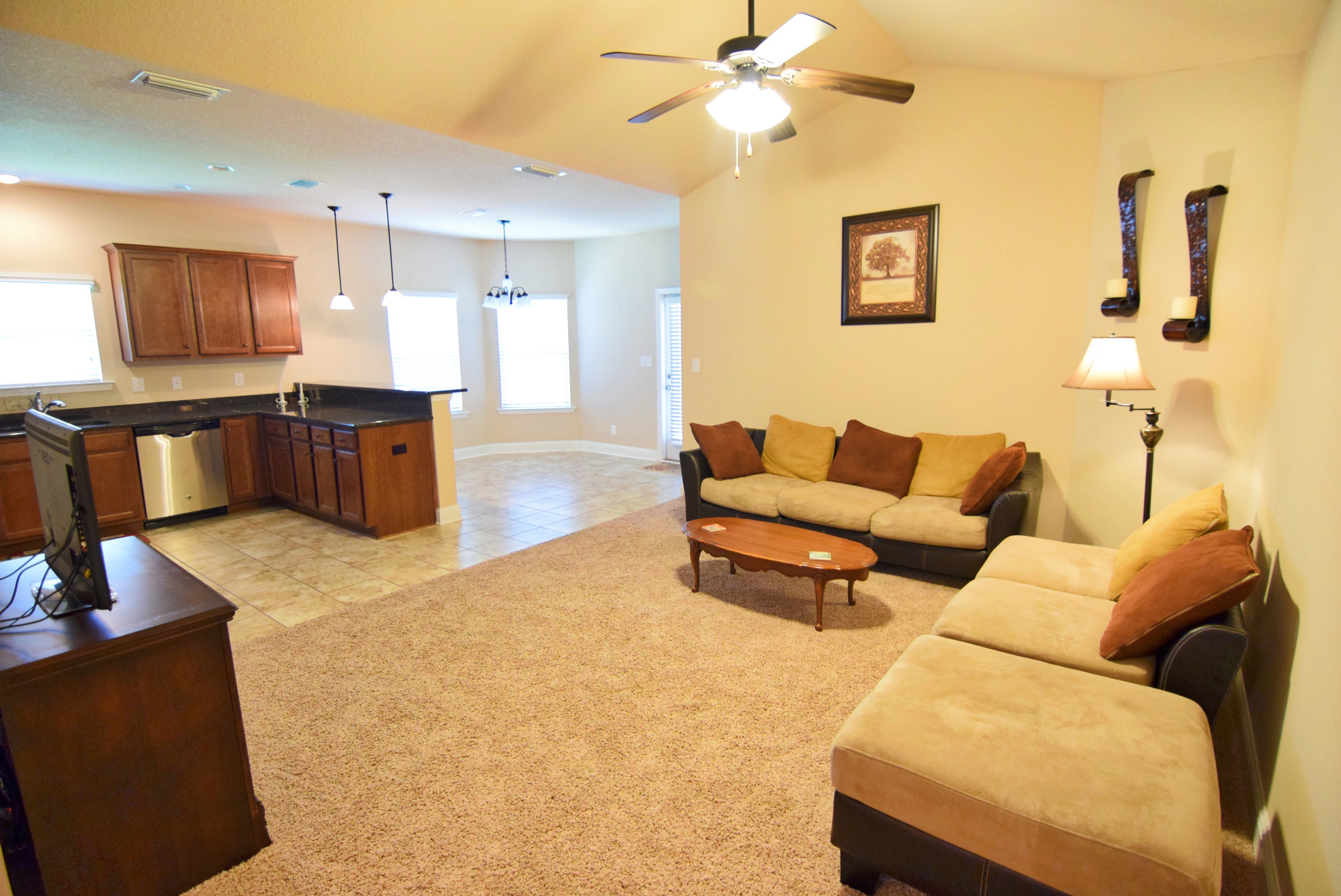 Home With Open Floor Plan In Stone Brook Subdivision In