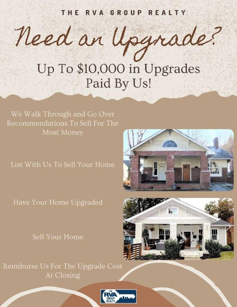 Home Upgrade Graphic