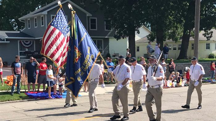 Grimes Iowa parade