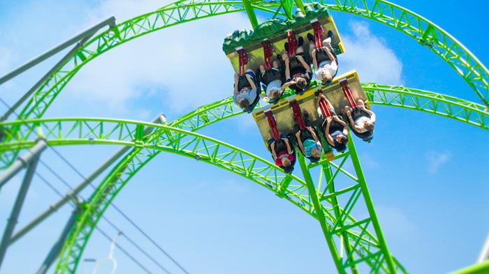 Adventureland rollercoaster