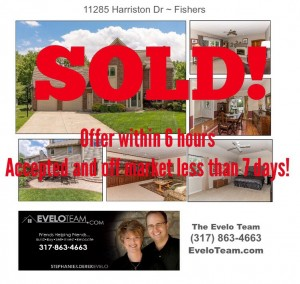 11285 Harriston Dr Fishers Home for Sale