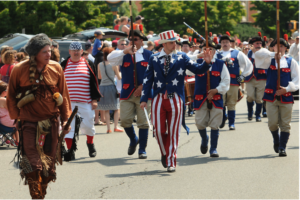 2012 Madison parade