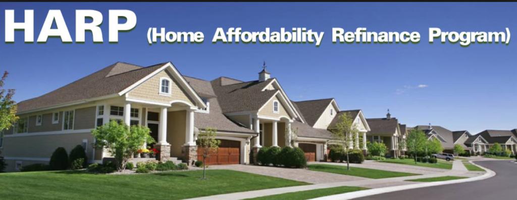 HARP home refinance
