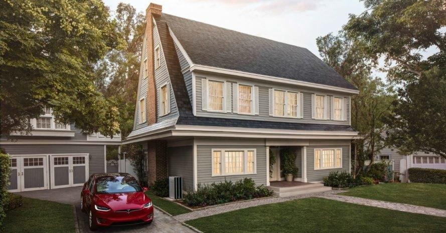 Tesla solar roof textured - TDT