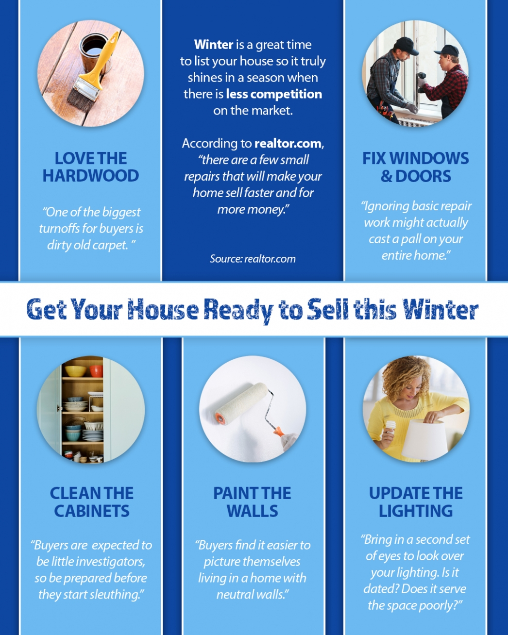 Get your house ready to sell - Homes for sale