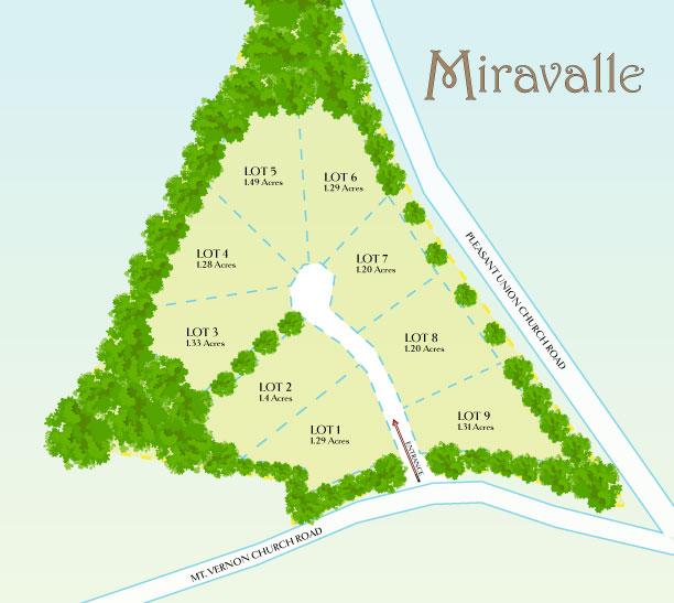 Miravalle Luxury home community logo