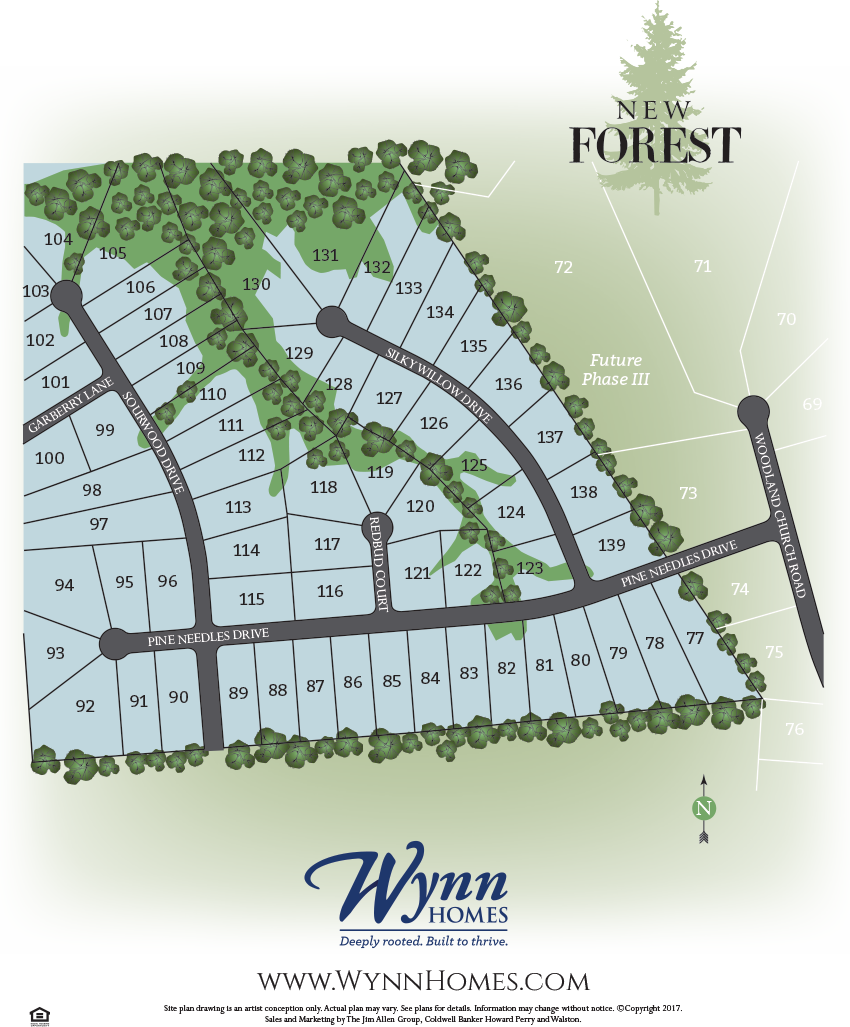new forest new home sitemap