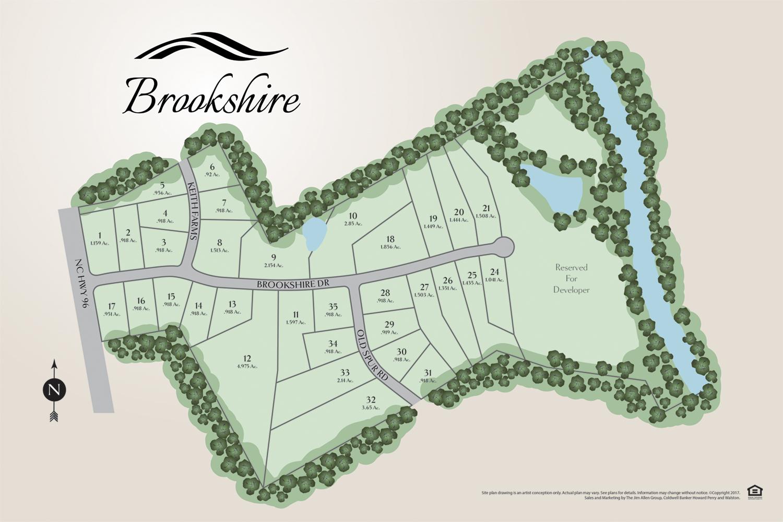 brookshire new homes sitemap