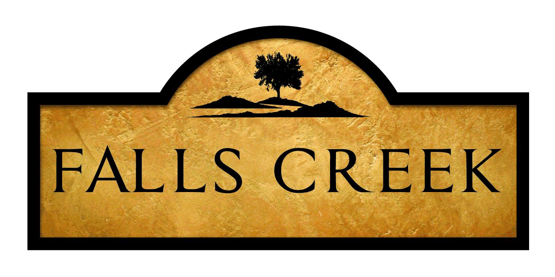 Falls Creek new home community logo