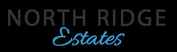 north ridge estates new home community logo