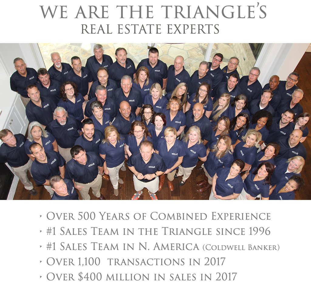 we are the triangle real estate experts