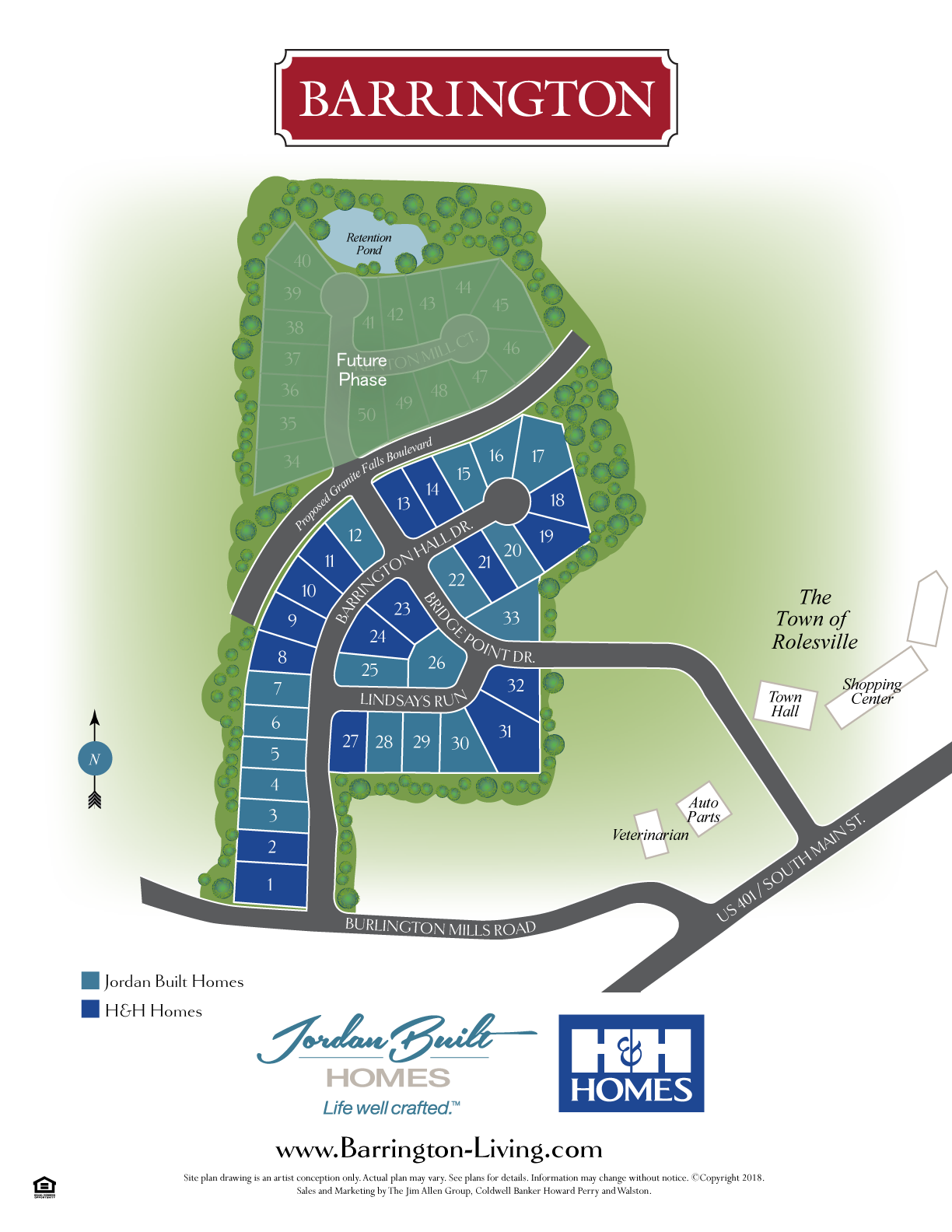 barrington new homes youngsville sitemap