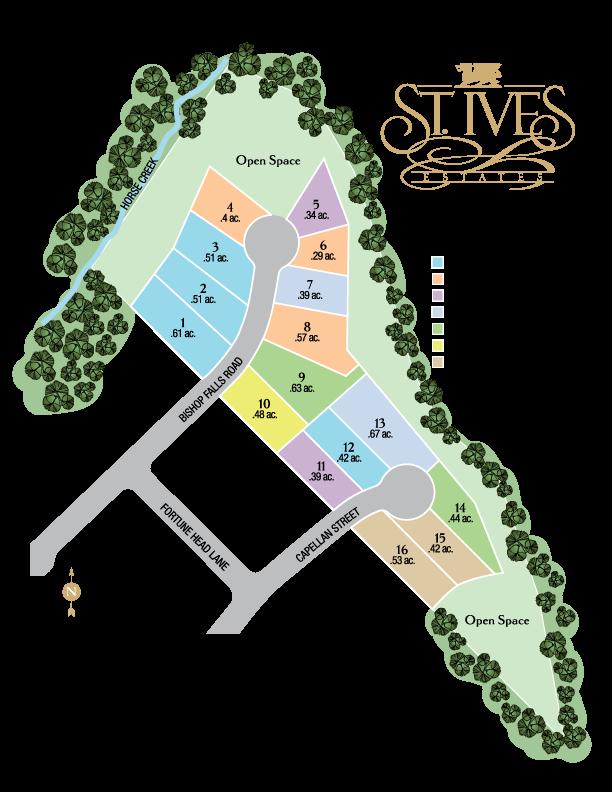 st ives estates new homes
