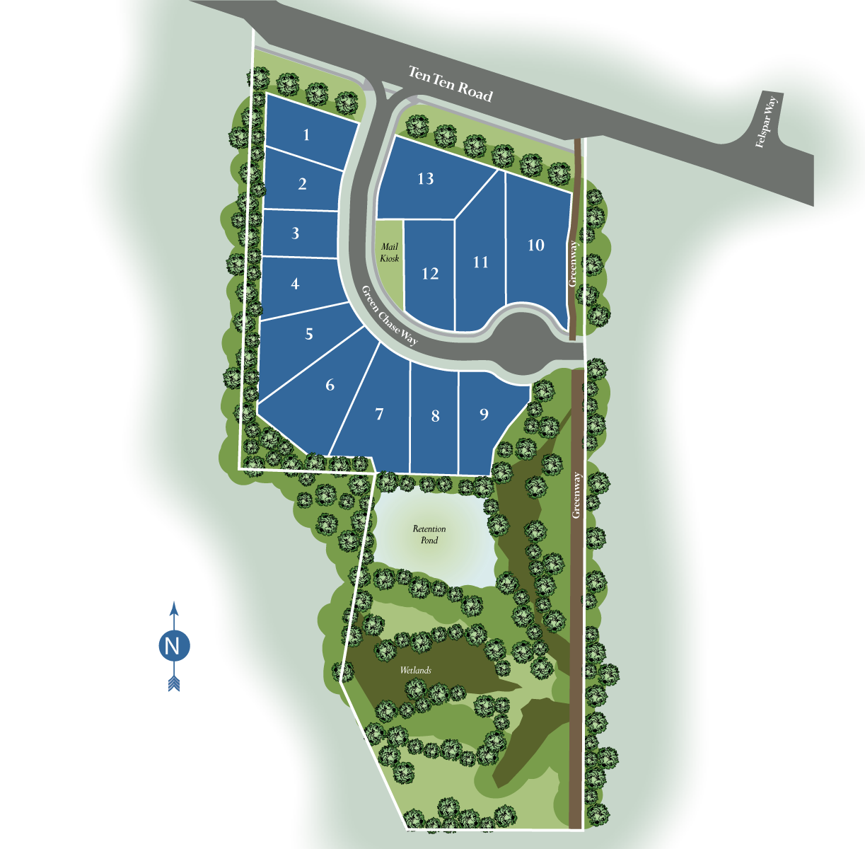 Jameson's Cove Siteplan