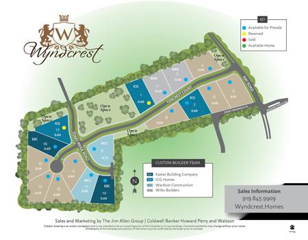 Wyndcrest Sitemap