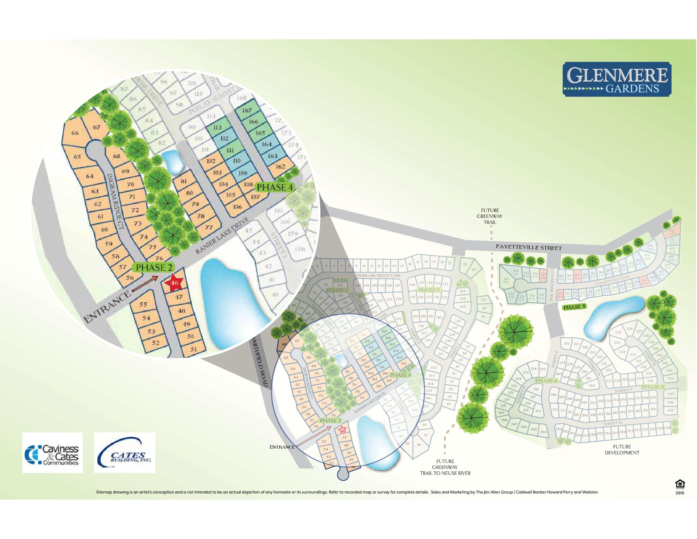 Glenmere Gardens Sitemap