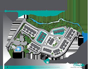 Carraway Gardens Siteplan