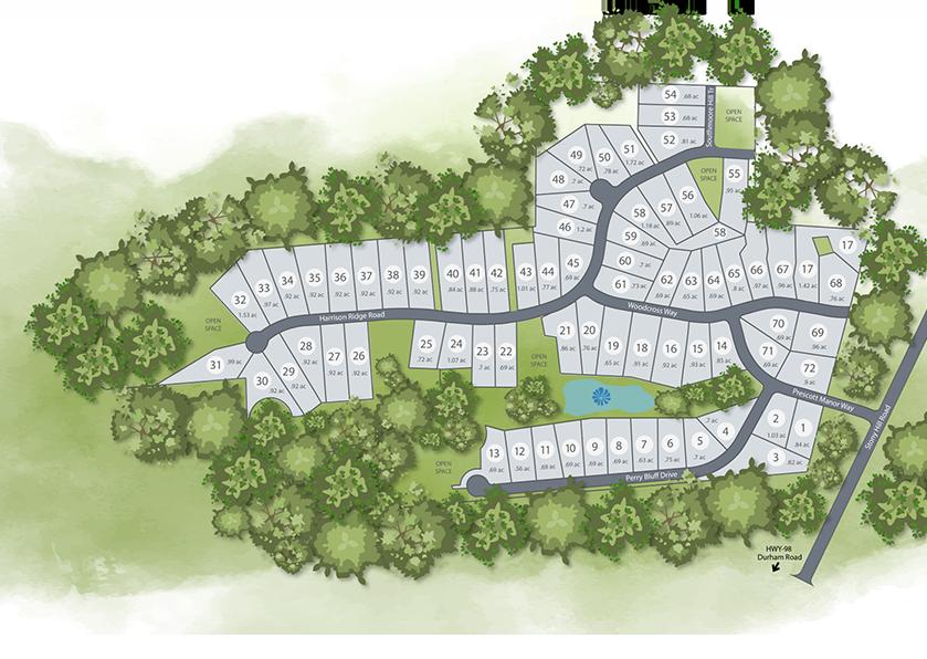 Prescott Manor Siteplan