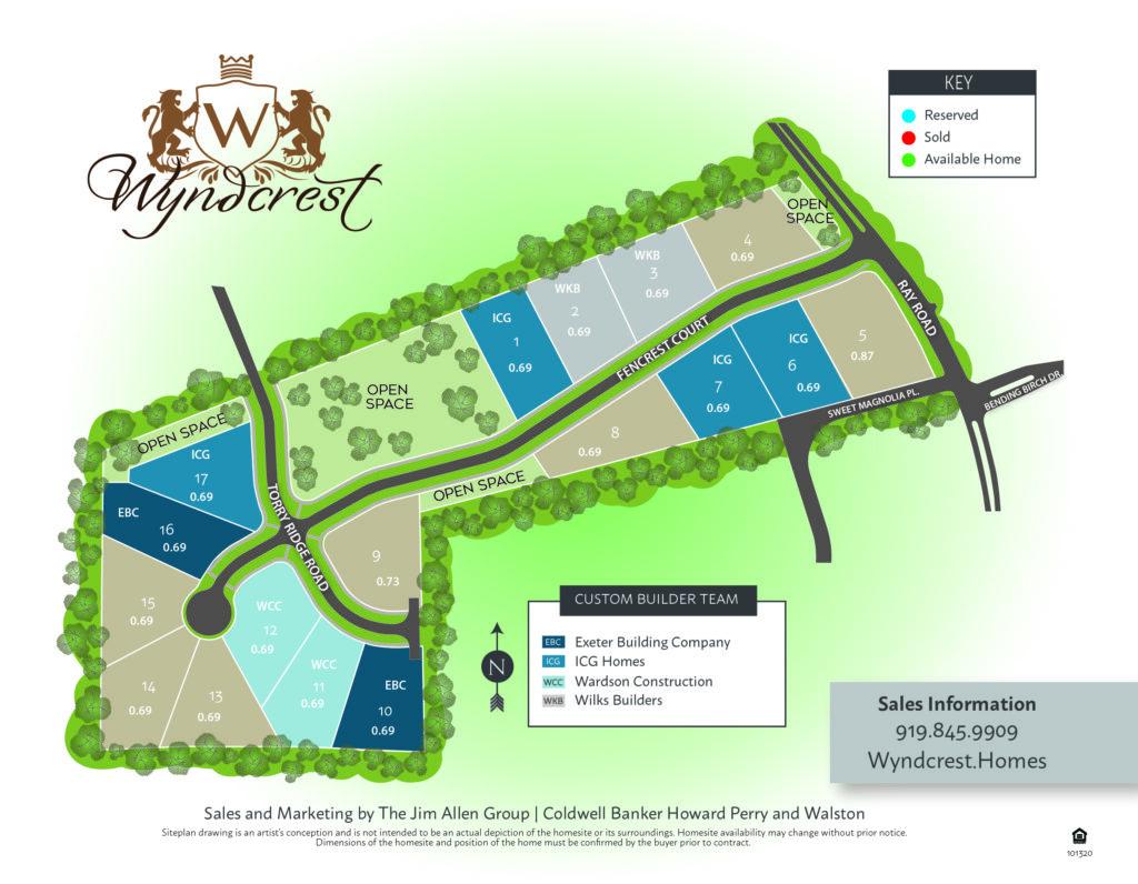 Click to Download Wyndcrest Siteplan
