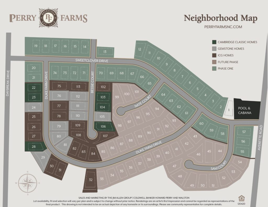Perry Farms | New Homes from the $500s