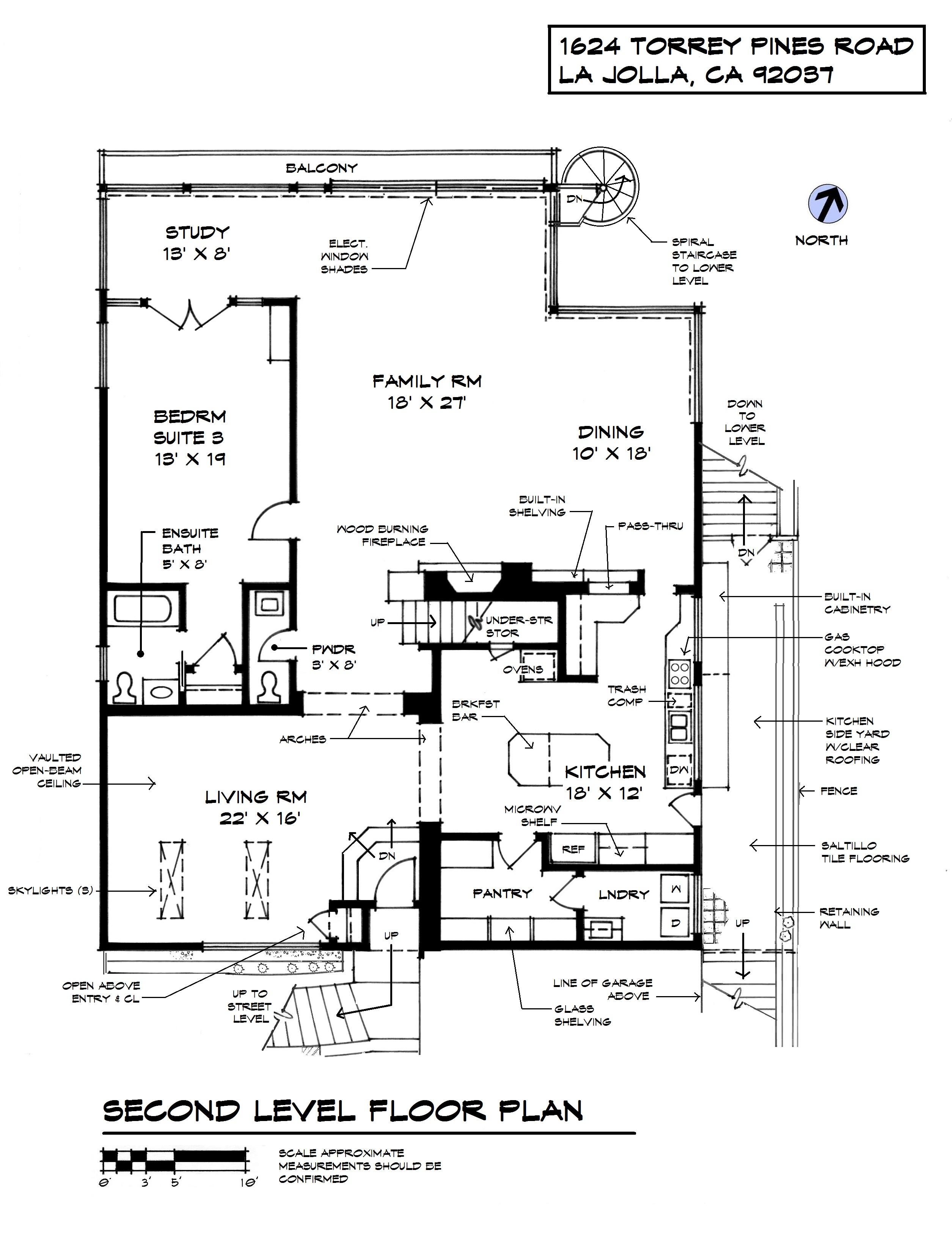 1624 Torrey Pines Street Lv Plan