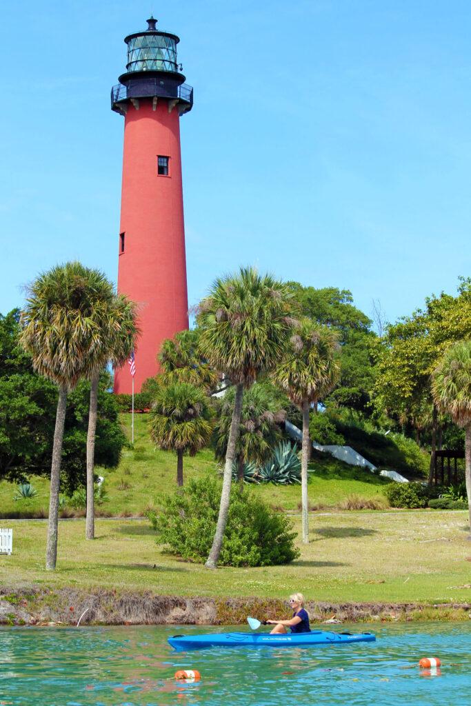 Red Lighthouse Jupiter Florida