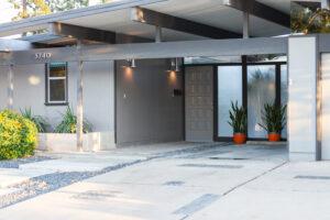 Eichler Home | Fairhaven | Mid-Century Modern Dessing | Kelly Laule