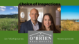 Marin County Real Estate-Options for a buyer when choosing their inspections.