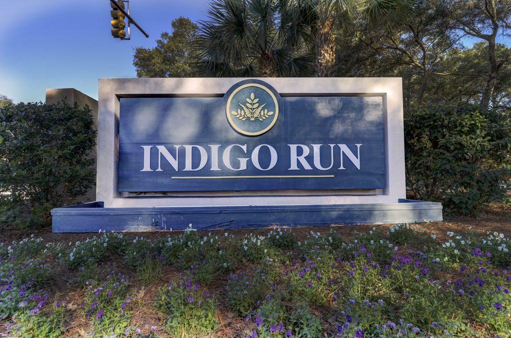Indigo Run Entrace