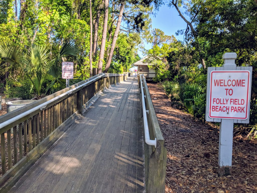 Folly Field Beach Entrance