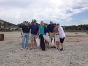 Group at Beach Sweep