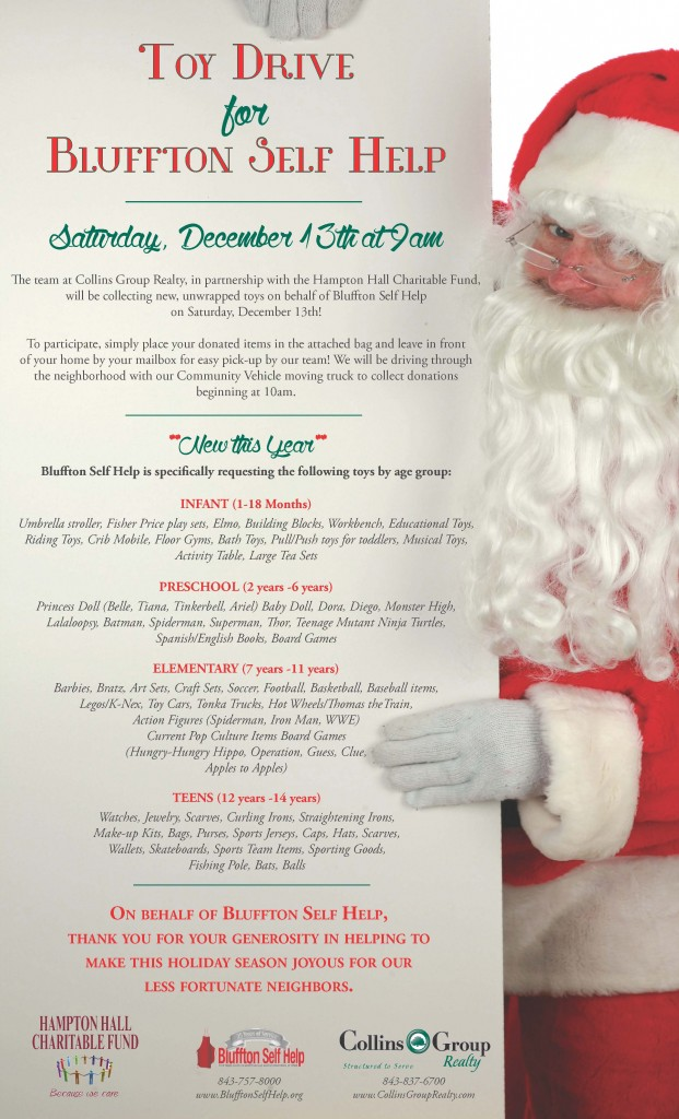 Toy Drive Flyer 12.2014
