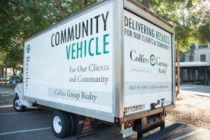 Collins Group Realty Community Vehicle
