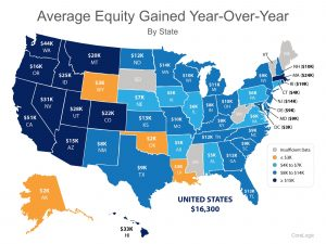 Average Equity Year over year by State