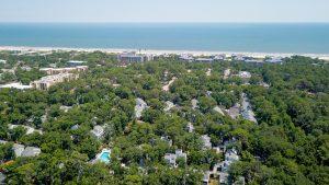 Treetops Villas Ocean Oriented Drone Aerial