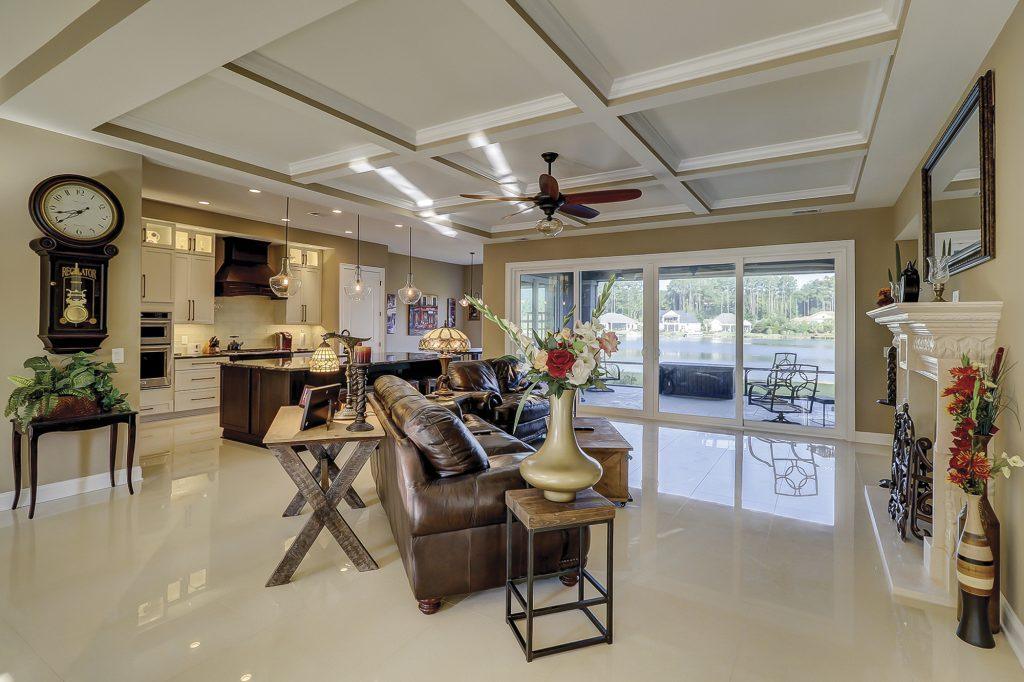 234 Hampton Lake Drive Bluffton, SC 29910 - Great Room with Lake Views