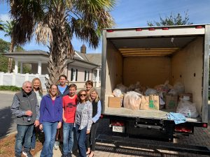 Collins Group Realty, Food Drive, Deep Well Project