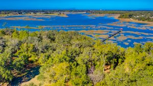 800 Distant Island Drive, Beaufort, SC Aerial View