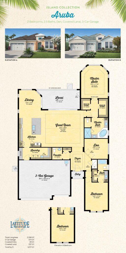 Latitude Margaritaville Hilton Head Aruba Floor Plan
