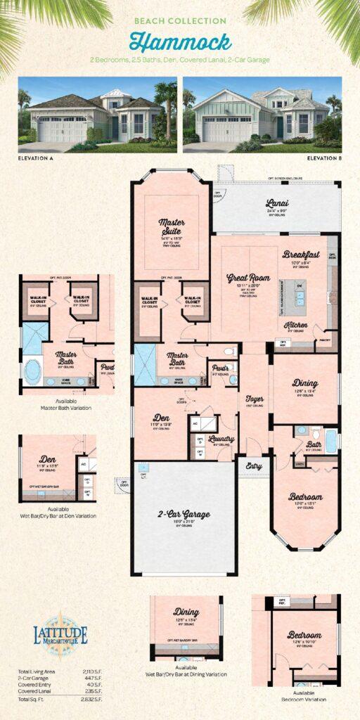 Latitude Margaritaville Hilton Head Hammock Floor Plan
