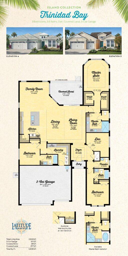 Latitude Margaritaville Hilton Head Trinidad Bay Floor Plan
