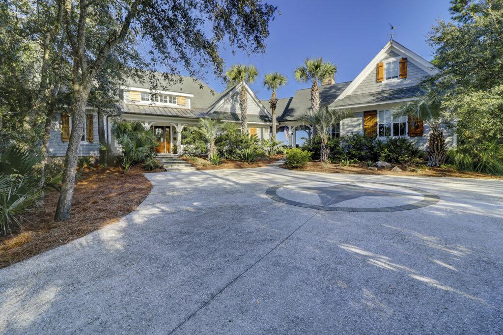 Deep water views, custom built home at 58 Blue Crab Manor