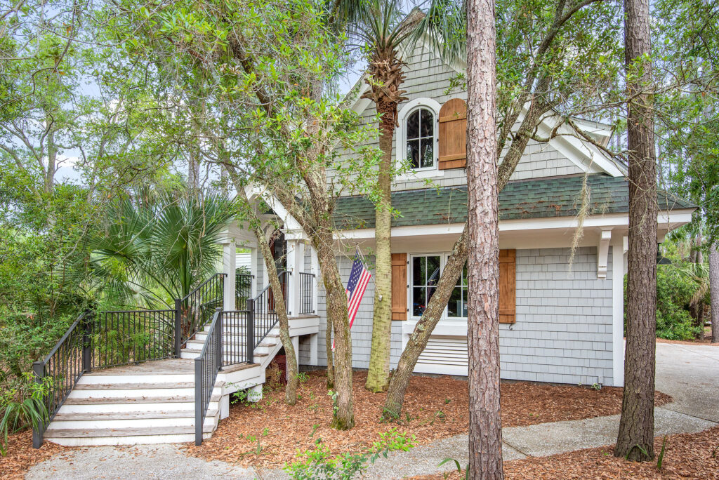 58 Blue Crab Manor, Deep Water Views on HHI