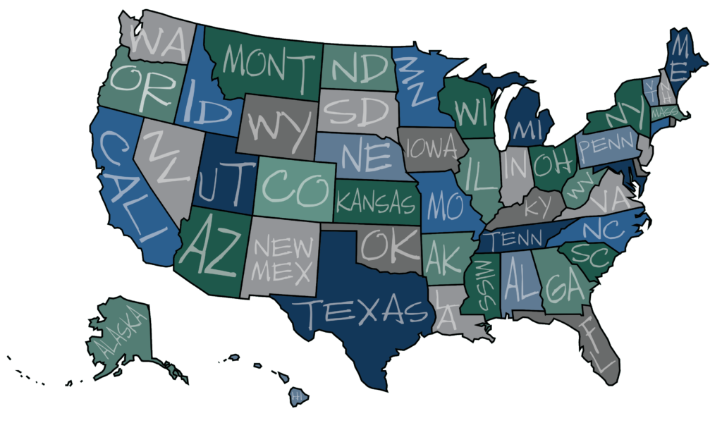 Agent Referral Map