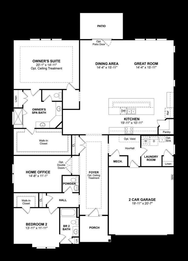 San Sebastian Floor Plan