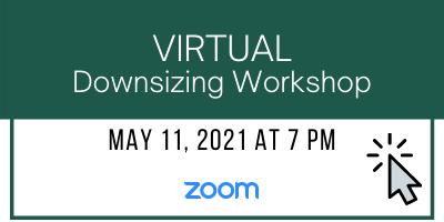 Virtual Downsizing Workshop for Hilton Head Island & Bluffton SC