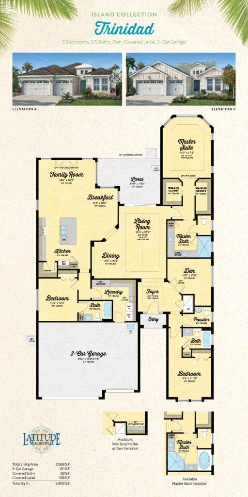 Latitude Margaritaville Hilton Head Trinidad Floor Plan