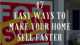 Ready to sell your home? Check out these tips to help it sell even faster!