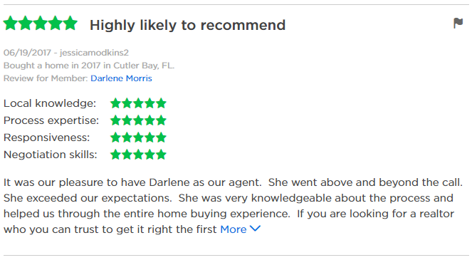 Jack Coden Group Zillow reviews